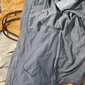 lululemon athletica Jackets & Coats - Lululemon Coast Wrap Jacket Sweater Heathered Gray